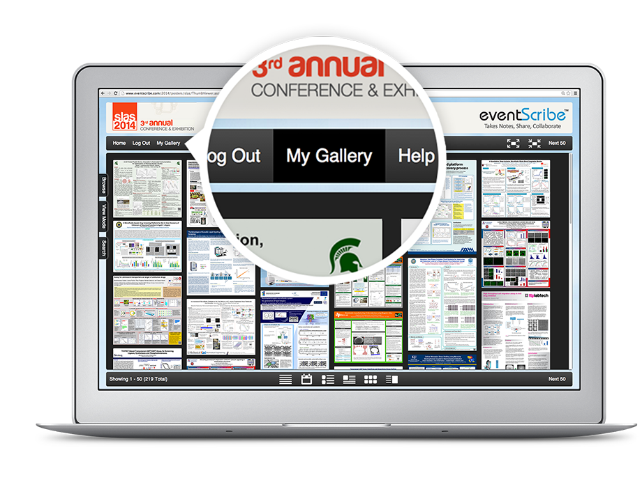 CadmiumCD's online poster gallery is completely interactive so your attendees can get the greatest continuing education benefit from your conference possible.